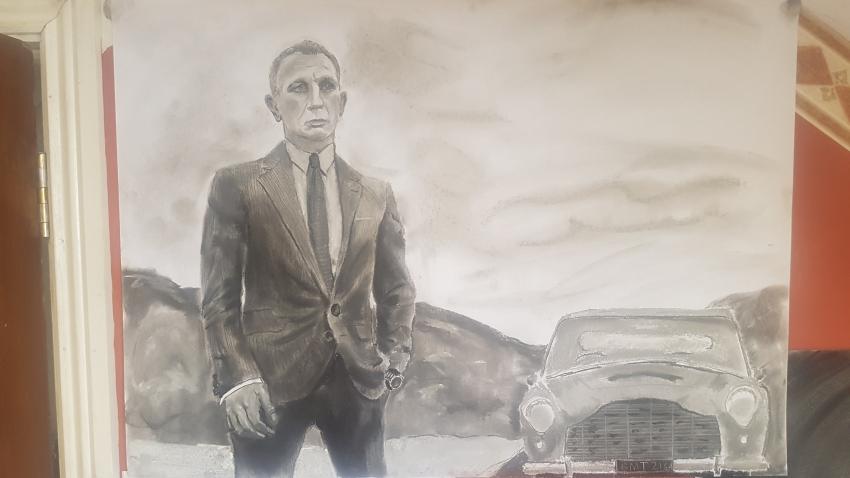 Daniel Craig by Varoh